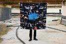 SERAPIS, Scarf8. TechnoJapan, Print on 100% Satin silk, 50x50cm, 90x90cm, 130x130cm, limited edition of 200