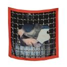 SERAPIS, Scarf2. Shark Boot, Print on 100% Twill silk, 50x50cm, 90x90cm, 130x130cm, limited edition of 200