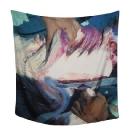 SERAPIS, Scarf5. Shark, Print on 100% Twill silk, 50x50cm, 90x90cm, 130x130cm, limited edition of 200