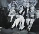 Stelios Karamanolis - Grace I, 2012, acrylic on canvas, 142x125cm