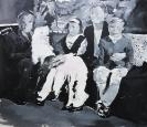 Stelios Karamanolis - Grace II, 2012, acrylic on canvas, 142x125cm