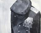 Stelios Karamanolis - Uniform, 2011, acrylic on canvas, 68x57cm
