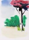 Stelios Karamanolis, Landscape II, 2014, oil on canvas, 30x40cm