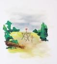 Stelios Karamanolis, Recon Team Party, 2014, oil on canvas, 80x80cm