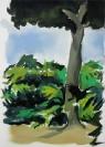 Stelios Karamanolis, Landscape III, 2014, oil on canvas, 50x70cm