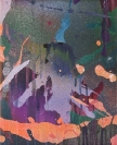 Yorgos Stamkopoulos, Betrayed Shadows, 2012, Acrylic on Canvas, 27x22cm