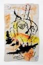 Yorgia Karidi, Untitled, 2014, Paint and glaze on ceramic, 22x13x9cm