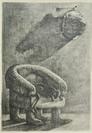 Diamantis Sotiropoulos, The Bear Chair, The Punishment series, 2013, graphite on paper, 21x29,7m