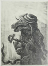 Diamantis Sotiropoulos, Ancestor, The Punishment series, 2013, graphite on paper, 21x29,7m