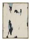 Yorgos Stamkopoulos, Untitled, 2014, Acrylic airbrush and Spray on Unprimed Canvas and Artist Frame, 36x26cm