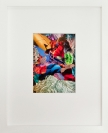 Yorgos Stamkopoulos, Untitled I, Captain America vs Red Skull series, 2012, collage on paper, 10x14cm