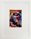 Yorgos Stamkopoulos, Untitled III, Captain America vs Red Skull series, 2012, collage on paper, 10x14cm