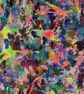 Yorgos Stamkopoulos, Shattered Equilibrium, 2012, Acrylic on Canvas, 110x100cm
